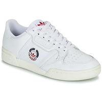 Sko Lave sneakers adidas Originals CONTINENTAL 80 Hvid