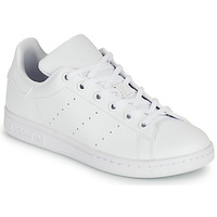 Sko Børn Lave sneakers adidas Originals STAN SMITH J SUSTAINABLE Hvid