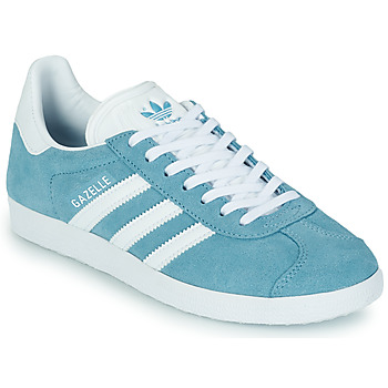 Sko Dame Lave sneakers adidas Originals GAZELLE W Blå