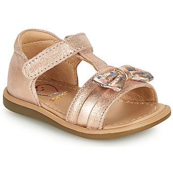 Sko Pige Sandaler Shoo Pom TITY NEW KNOT Pink