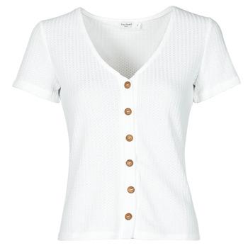 textil Dame Toppe / Bluser Betty London ODILOU Hvid