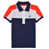 textil Dreng Polo-t-shirts m. korte ærmer Timberland MAMMA Flerfarvet