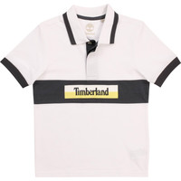 textil Dreng Polo-t-shirts m. korte ærmer Timberland DOTTO Hvid