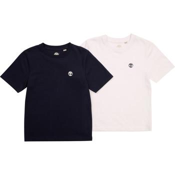 textil Dreng T-shirts m. korte ærmer Timberland FONNO Flerfarvet