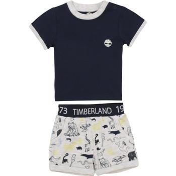 textil Dreng Sæt Timberland PITTI Flerfarvet