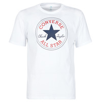 textil Herre T-shirts m. korte ærmer Converse NOVA CHUCK PATCH TEE Hvid
