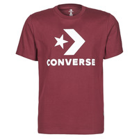 textil Herre T-shirts m. korte ærmer Converse STAR CHEVRON TEE Bordeaux