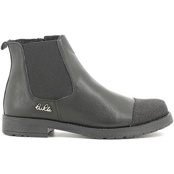 Sko Børn Støvler Lulu LL100022L Sort