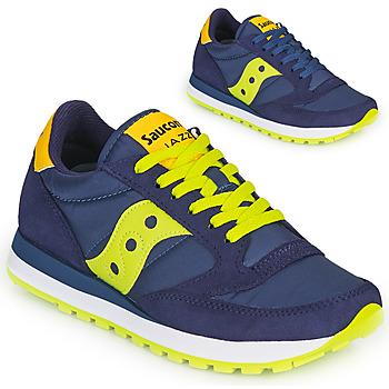 Sko Lave sneakers Saucony JAZZ ORIGINAL Blå / Gul