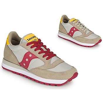 Sko Dame Lave sneakers Saucony JAZZ ORIGINAL Beige / Rød