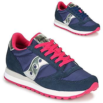 Sko Dame Lave sneakers Saucony JAZZ ORIGINAL Blå / Pink