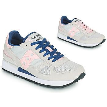 Sko Dame Lave sneakers Saucony SHADOW ORIGINAL Grå / Pink / Blå