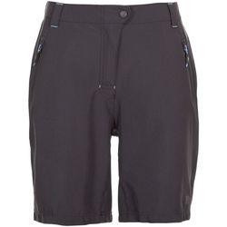 textil Dame Shorts Trespass Brooksy Dark Grey