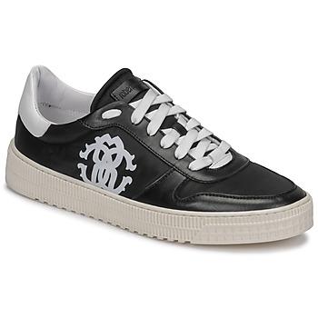Sko Herre Lave sneakers Roberto Cavalli GEL Sort