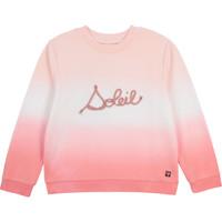 textil Pige Sweatshirts Carrément Beau Y15373-N44 Hvid / Pink