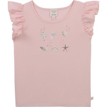 textil Pige T-shirts m. korte ærmer Carrément Beau Y15378-44L Pink