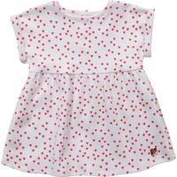 textil Pige Korte kjoler Carrément Beau Y92119-10B Hvid