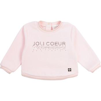 textil Pige Sweatshirts Carrément Beau Y95254-44L Pink