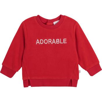 textil Pige Sweatshirts Carrément Beau Y95256-992 Rød
