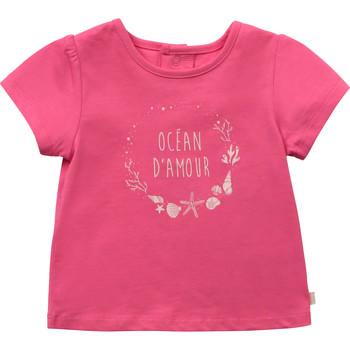 textil Pige T-shirts m. korte ærmer Carrément Beau Y95270-46C Pink