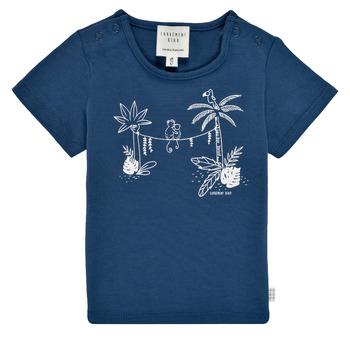 textil Dreng T-shirts m. korte ærmer Carrément Beau Y95274-827 Marineblå