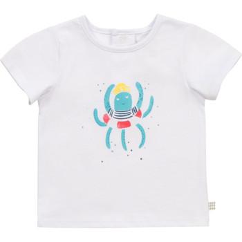 textil Dreng T-shirts m. korte ærmer Carrément Beau Y95275-10B Hvid