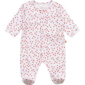 textil Pige Pyjamas / Natskjorte Carrément Beau Y97101-10B Hvid