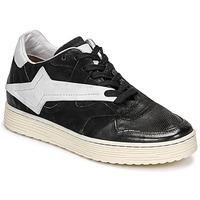 Sko Dame Lave sneakers Airstep / A.S.98 ZEPPA Sort / Hvid