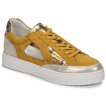 Sko Dame Lave sneakers Regard HARY2 Gul