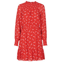 textil Dame Korte kjoler MICHAEL Michael Kors SIGNATRE LOGO SMCK DR Rød