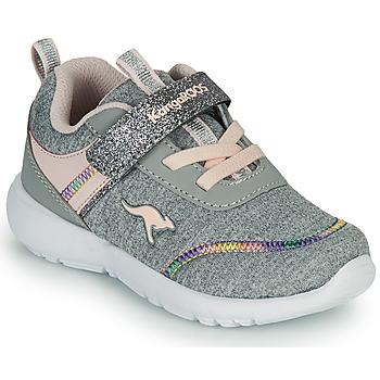 Sko Pige Lave sneakers Kangaroos KY-CHUMMY EV Grå / Pink