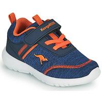 Sko Dreng Lave sneakers Kangaroos KY-CHUMMY EV Blå / Orange