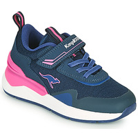 Sko Pige Lave sneakers Kangaroos KD-GYM EV Blå / Pink