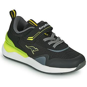 Sko Dreng Lave sneakers Kangaroos KD-GYM EV Sort / Gul
