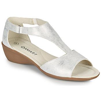 Sko Dame Sandaler Damart 49019 Sølv