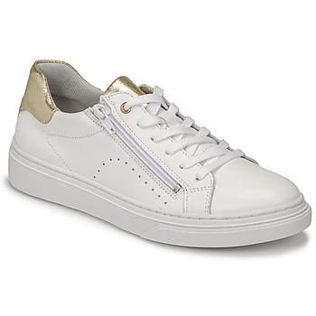 Sko Pige Lave sneakers Bullboxer AOP000E5L-WHPN Hvid