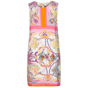 textil Dame Korte kjoler Derhy SEOUL Pink / Flerfarvet