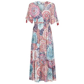 textil Dame Lange kjoler Derhy STOP Flerfarvet
