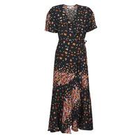 textil Dame Lange kjoler Derhy SUEDE Sort / Flerfarvet