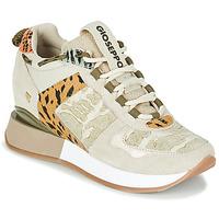 Sko Dame Lave sneakers Gioseppo PATERSON Beige / Kaki