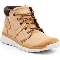 Sko Herre Høje sneakers Palladium Manufacture Pallaville HI Cuff L 05160-280-M brown