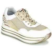 Sko Dame Lave sneakers IgI&CO ALMINTA Hvid / Guld