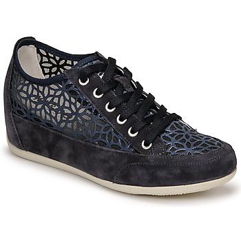 Sko Dame Lave sneakers IgI&CO ANINOMA Blå