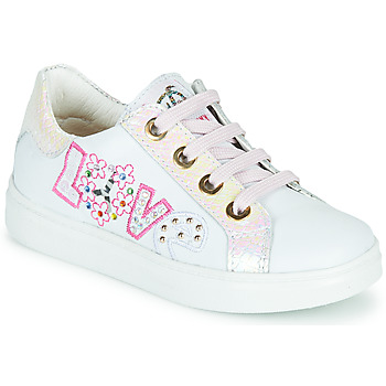 Sko Pige Lave sneakers Pablosky AMME Hvid / Pink