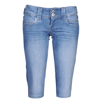 textil Dame Halvlange bukser Pepe jeans VENUS CROP Blå