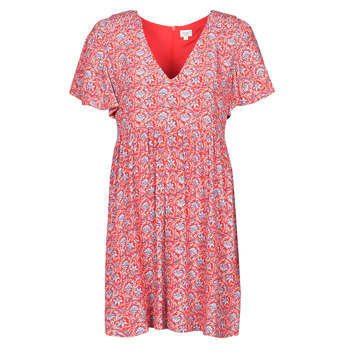textil Dame Korte kjoler Pepe jeans CAROLINA Rød / Blå