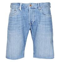 textil Herre Shorts Pepe jeans STANLEU SHORT BRIT Blå / Lys