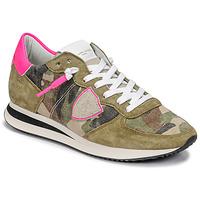 Sko Dame Lave sneakers Philippe Model TROPEZ X Camouflage