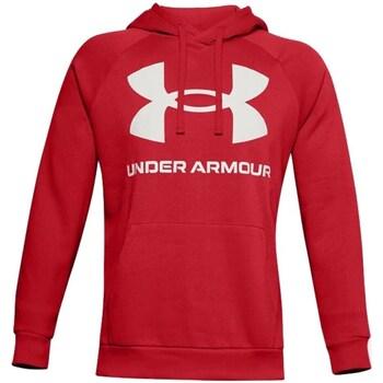 textil Herre Sweatshirts Under Armour Rival Fleece Big Logo HD Rød