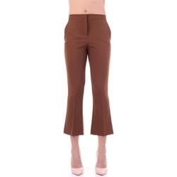 textil Dame Habit bukser Angela Davis EG71 Tabacco